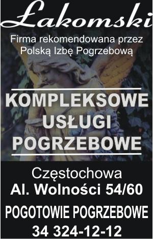 Zakład Pogrzebowy Łakomski Częstochowa