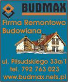 Budmax - Firma Remontowo-Budowlana