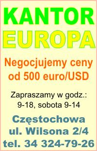 Europa Kantor,Częsatochowa