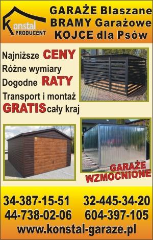Konstal Garaże