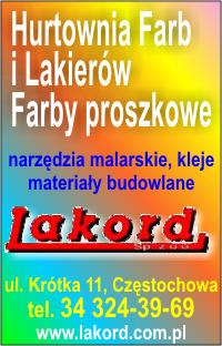 Lakord - hurtownia farb i lakierów, Częstochowa