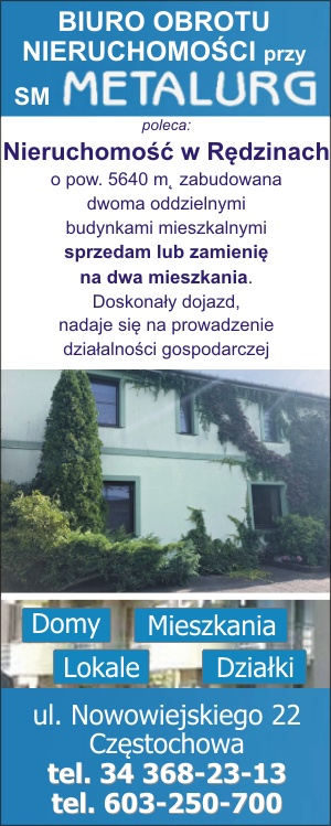 Biuro Obrotu Nieruchomości przy SM 'Metalurg'