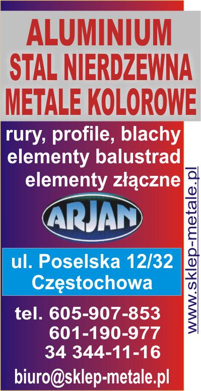 Stalkwas - wyroby z metali nieżelaznych (aluminium,brąz,miedź,mosiądz,ołów,tytan-cynk),materiały ze stali nierdzewnej i kwasoodpornej,tworzywa konstrukcyjne