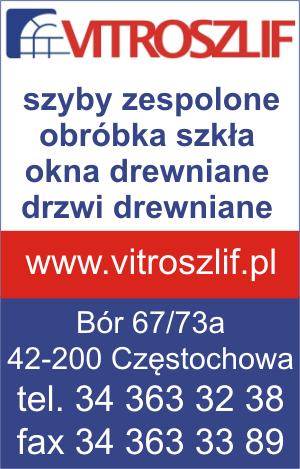 Vitroszlif,szyby zespolone Częstochowa