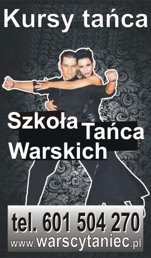 Szkoła Tańca Warskich w Częstochowie. Zajęcia taneczne dla Dzieci, Młodzieży i Dorosłych. Kursy tańca i Zajęcia indywidualne.