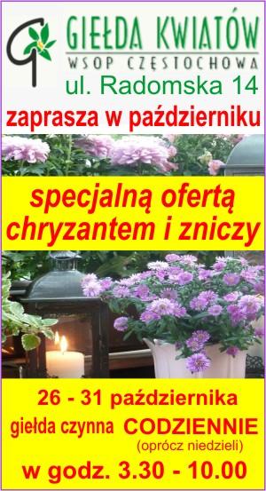 Wojewódzka Spółdzielnia Ogrodniczo - Pszczelarska w Częstochowie
